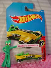ICE SHREDDER #240✰Yellow/Green; 17;stars ✰HW DAREDEVILS✰2017 i Hot Wheels case K