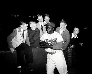 Jackie-Robinson-12-Photo-8X10-Brooklyn-Dodgers-Buy-Any-2-Get-1-FREE