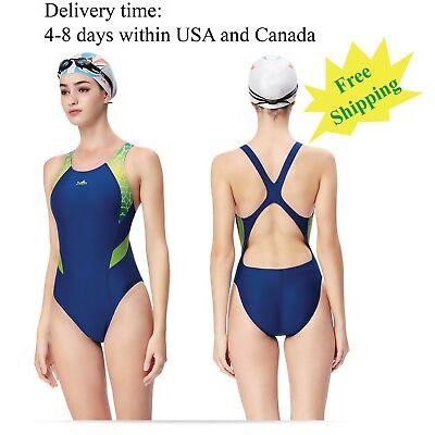 One piece swimsuit for women racing & training swimsuit Yingfa 946 Free shipping
