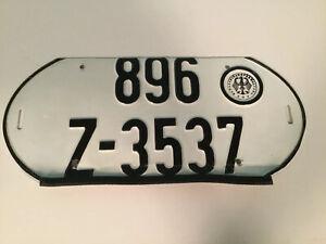 Vintage-German-License-Plate-Two-Rows
