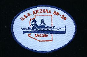 Patch, uss arizona bb-39 | uss bowfin catalog.