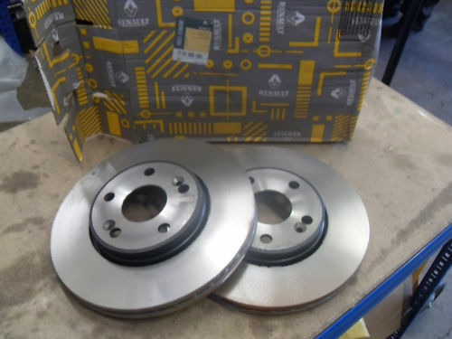 RENAULT BRAKE DISCS PAIR 7701206198 FITS MANY MODELS