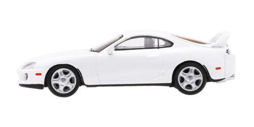 JZA80 TOYOTA SUPRA LHD WHITE LTD ED 4,800 PCS 1//64 DIECAST CAR BY TSM MGT00014