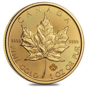 1-oz-Canadian-Gold-Maple-Leaf-50-Coin-Random-Year