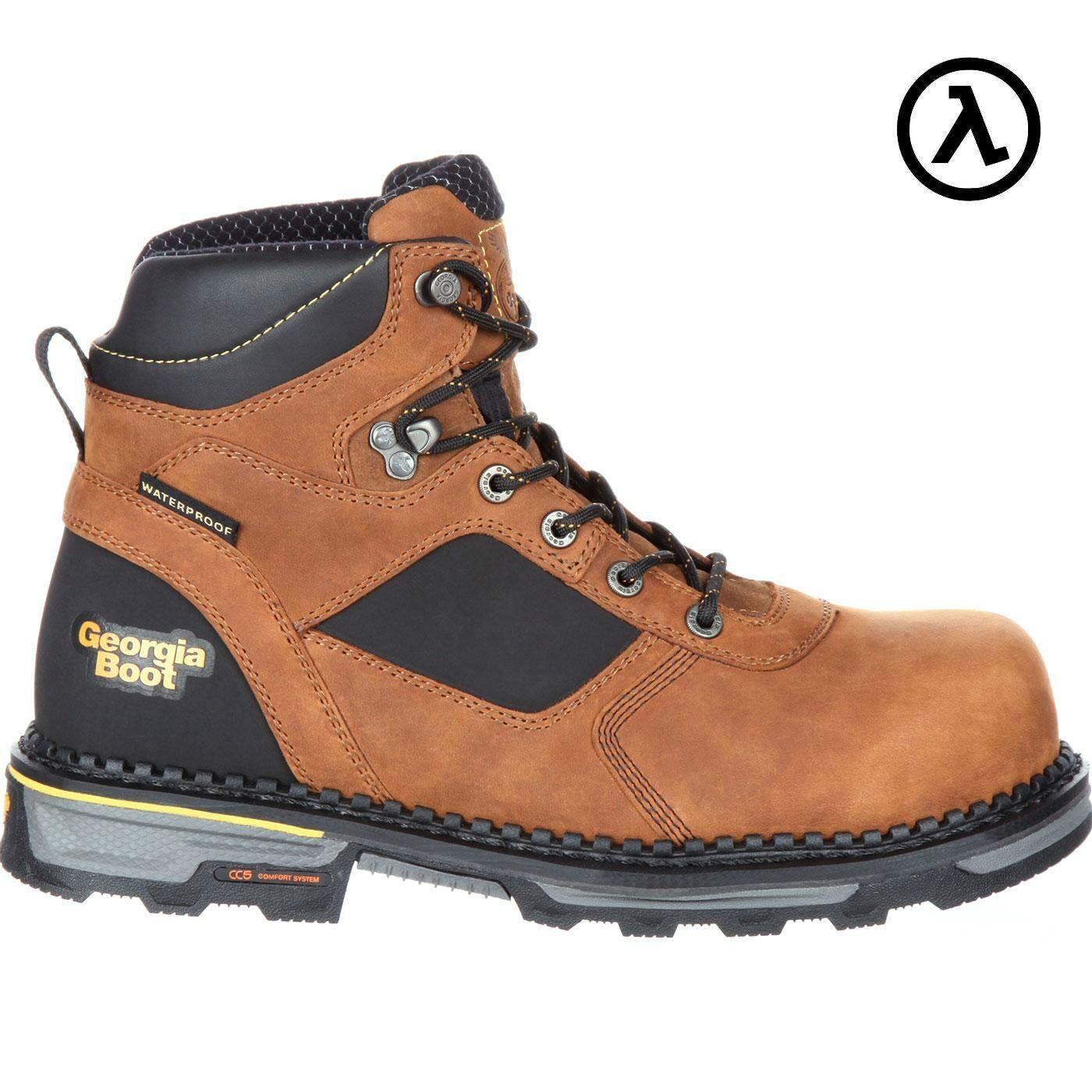 Georgia bota Martillo HD Composite Toe Impermeable botas De Trabajo GB00131  Venta