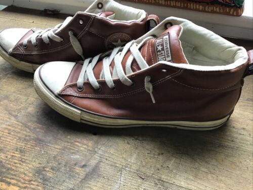 Converse All Star Brown Leather Size 12