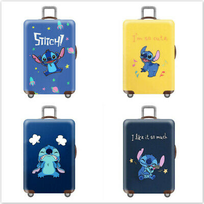 Elastic Travel Luggage Cover Butterfly Suitcase Protector for 18-20 Inch Luggage