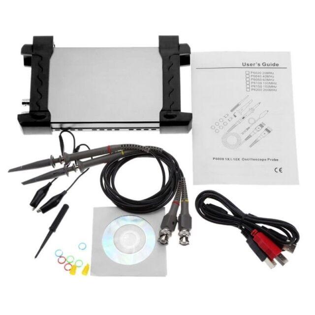 Hantek 6022BE PC Based Of USB Digital Storage Oscilloscope Of 20Mhz