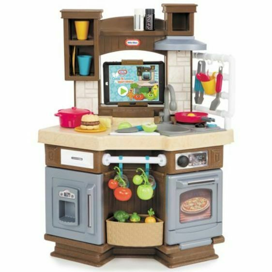 Little Tikes Cook N Learn Smart Kitchen With 40 Piece Accessory Set And 4 For Sale Online