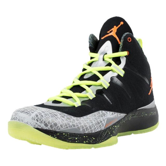sports shoes ac5e3 ba794 NIKE JORDAN SUPER.FLY 2 CHRISTMAS BLACK TOTAL ORANGE REFLECT SILVER 640315  025