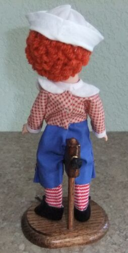 Wood adj saddle stand handmade for 8 inch dolls for MA Alexanderkins and others