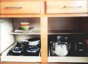 Image Is Loading 15 034 Inch Pull Out Shelf Kitchen Cabinet