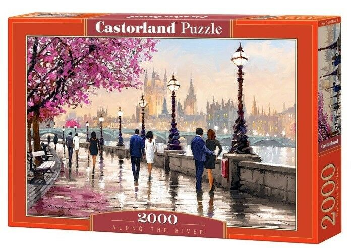 Castorland jigsaw puzzle 2000  Along The River