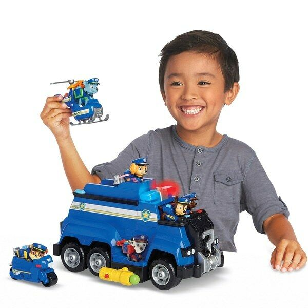 PAW Patrol Ultimate Police Rescue Vehicle Toy Set Brand New Free Delivery UK