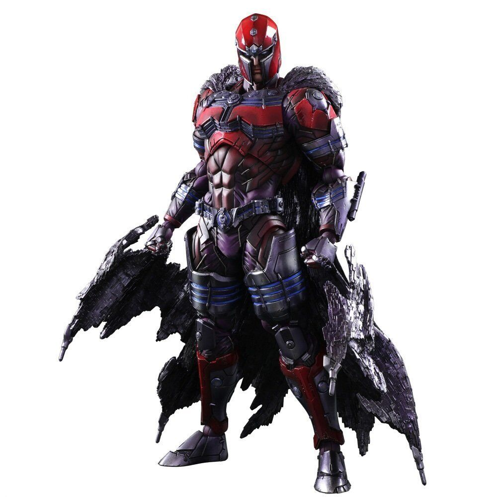 Pre Square Enix Marvel Universe Variant Play Arts Kai Magneto Action Figure NEW