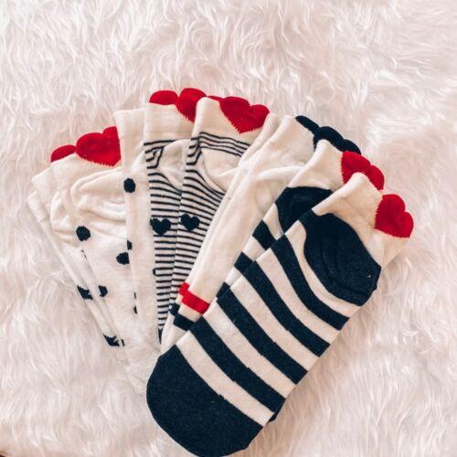 Cotton Ankle Socks Short Women Hosiery 35-40 Size Cute Animal Shape 5 Pairs Set