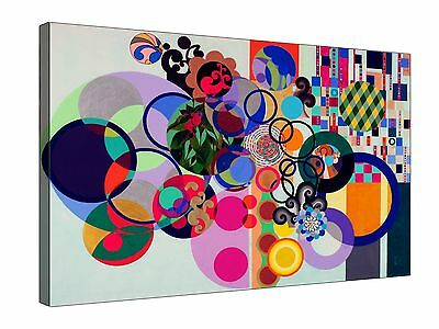 Beatriz Milhazes Obra Abstract  ~  Canvas Wall Art Picture Print Framed + Sizes