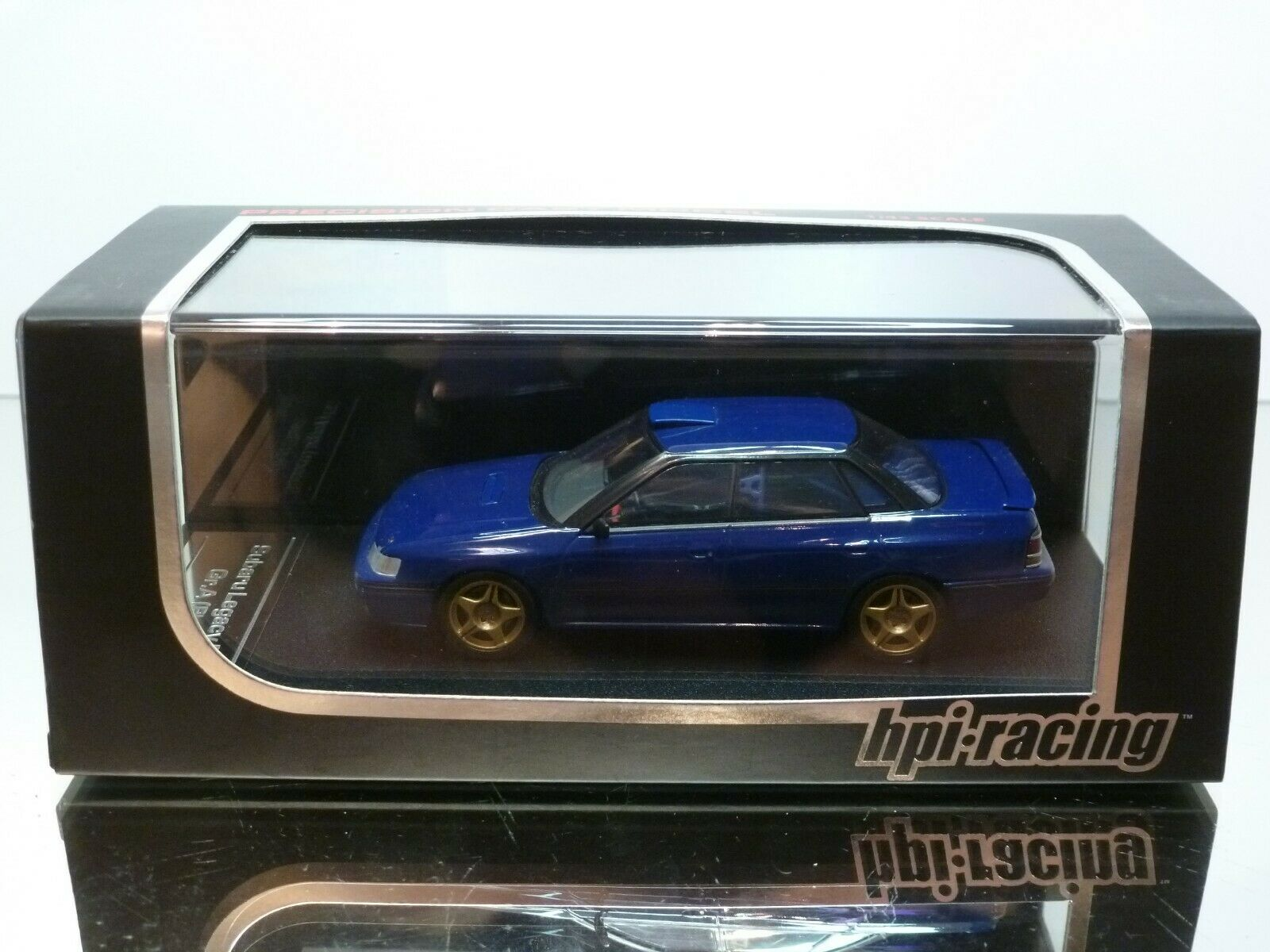 HPI RACING 8191 SUBARU LAGACY RS - PLAIN Couleur bleu 1 43 - EXCELLENT IN BOX