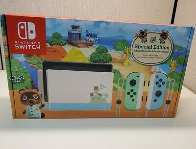 Nintendo Switch Animal Crossing New Horizons Limited Edition