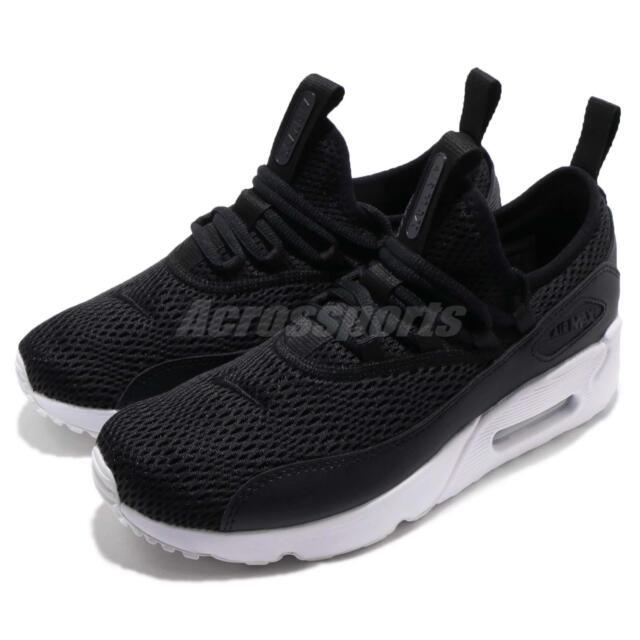 new photos f74cd 6b166 Nike Air Max 90 EZ GS Black White Kids Youth Women Running Shoes AH5211-005
