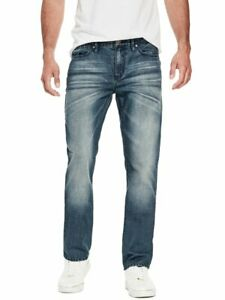 GUESS-Factory-Men-039-s-Crescent-Straight-Jeans