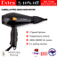 thumbnail 1 - Cabello Pro 3600 Hair Dryer Black for Man and Woman Short Hairstyles Blow Dryer