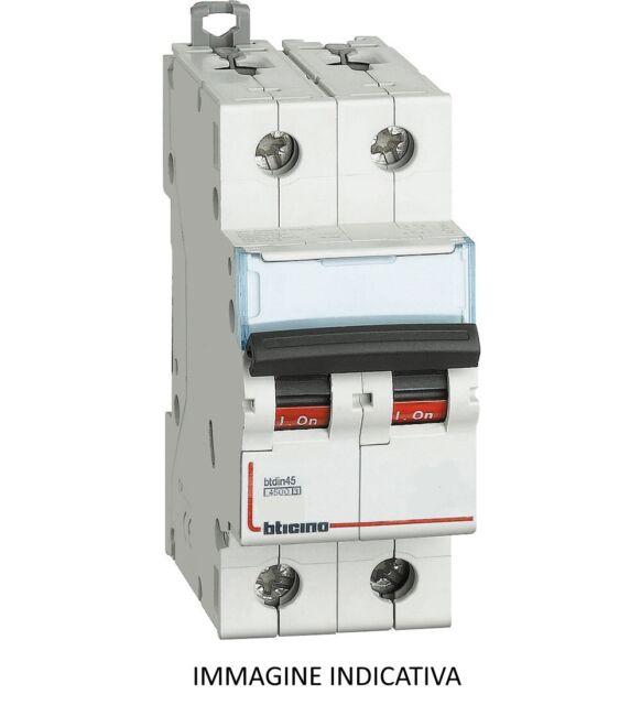 BTICINO F82/10 INTERRUTTORE MAGNETOTERMICO 2P 10A