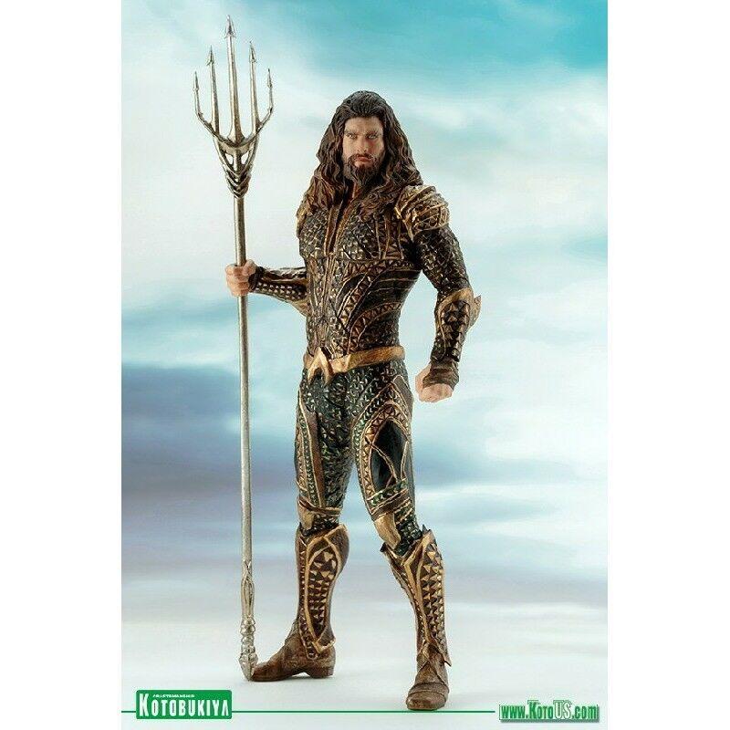Kotobukiya-film della JUSTICE LEAGUE-Aquaman LEAGUE-Aquaman LEAGUE-Aquaman ARTFX + Statua-NUOVO 6c9568