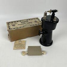 Hanau Trigger Type Alcohol Torch With Original Box Amp Extra Wick