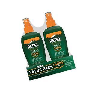 Repel Insect Repellent Sportsmen Max Formula Spray Pump 40 Deet