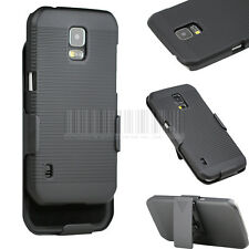 Rugged Swivel Holster Belt Clip Case Hard Cover Fr Samsung Galaxy S5 Active G870