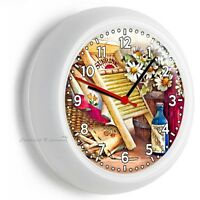 Retro Rustic Laundry Room Round Wall Clock Home Decor Nice Gift For Wife Friend