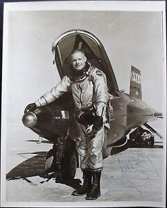 Neil Armstrong Rare Signed X-15 Photograph Apollo 11 1st ...