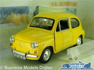 Zastava 750 Model Car 1:43 Scale Cararama Yellow Fiat Seat 600d K8 Promouvoir La Production De Fluide Corporel Et De Salive