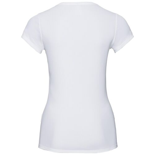 Sportwäsche Shirt weiß ODLO F-DRY LIGHT Funktionsshirt Damen