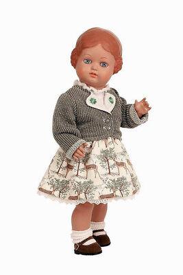 Schildkröt Klassik Puppe Ursel von 1941 Neuauflage 41cm mit Blumenkranz 7741768.