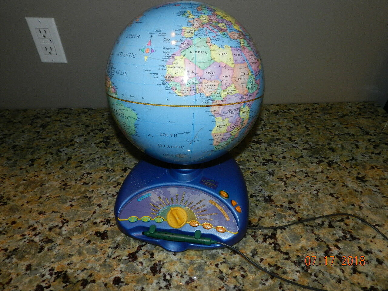 Leapfrog Explorer Interactive Educational Talking GLOBE (Eureka Challenge)