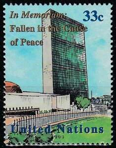 United-Nations-New-York-postfris-1999-MNH-826-Monument-voor-Gevallenen