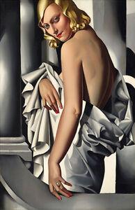 Portrait de Marjorie Ferry : 1932 : Tamara de Lempicka : Archival Art Print