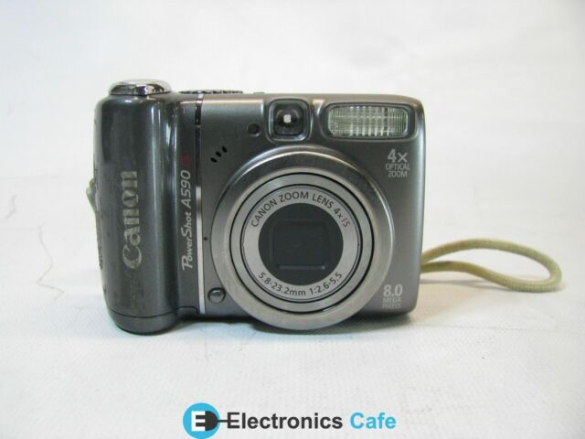 as Is Canon PowerShot A590 8mp Digital Camera