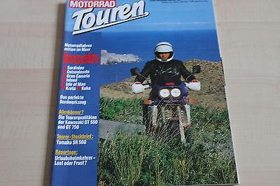 152507) Kawasaki Gt 550 Gt 750 - Yamaha Sr 500 - Motorrad Touren 05/1989