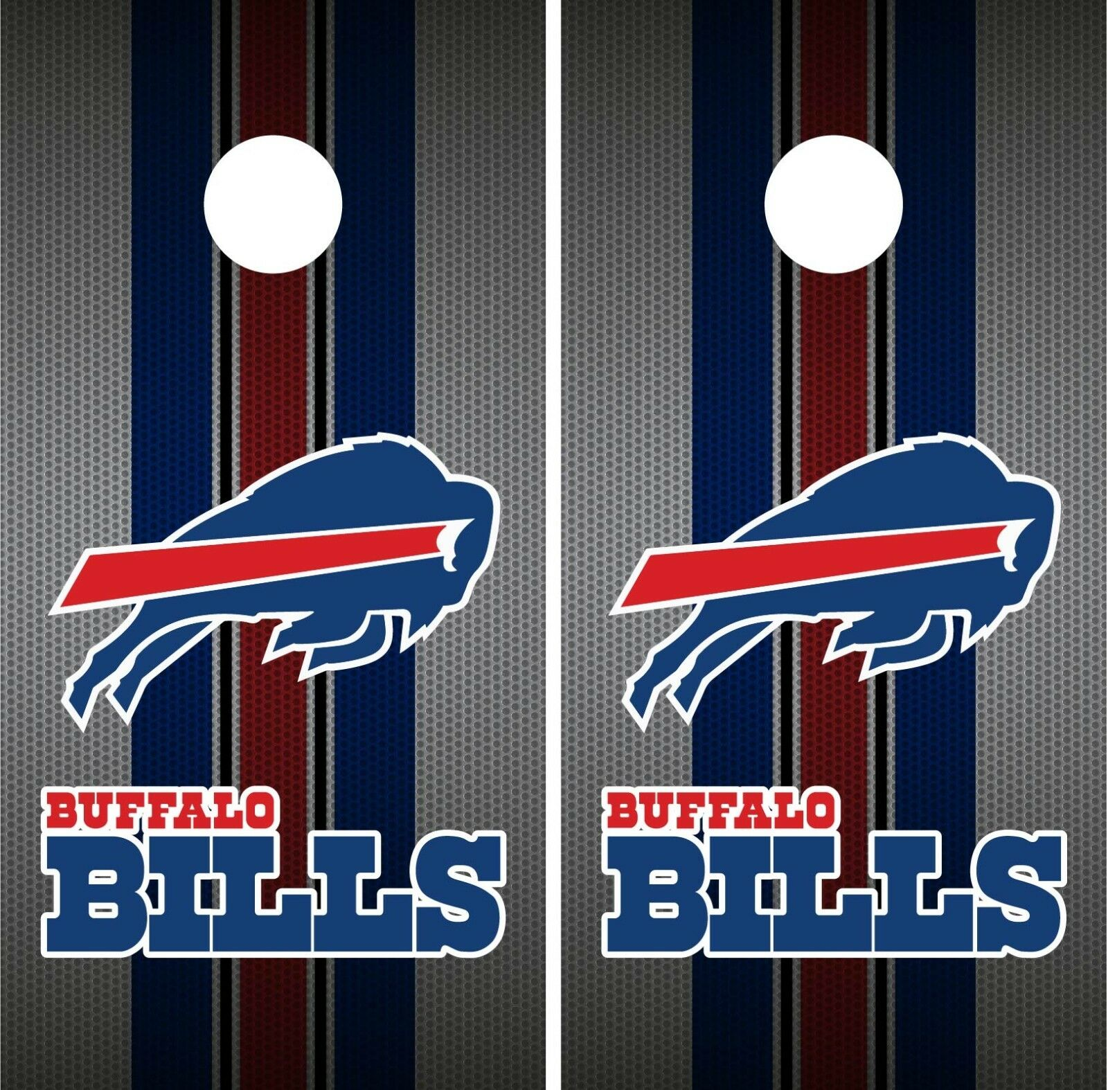 Buffalo Bills Team Flag Cornhole Wrap NFL Skin Game Board Set Vinyl Decal CO37