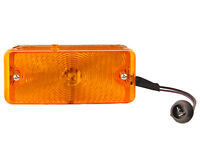 67 68 Chevy Pickup Truck Parking Lamp Assembly / Amber Lens / Right Side - Lp12