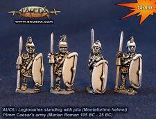 Baueda - Legionaries standing with pila (8 foot) - 15mm