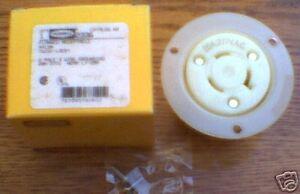 NEW Hubbell RECEPTACLE HBL2330 20  277  L7-20R HBL2330A