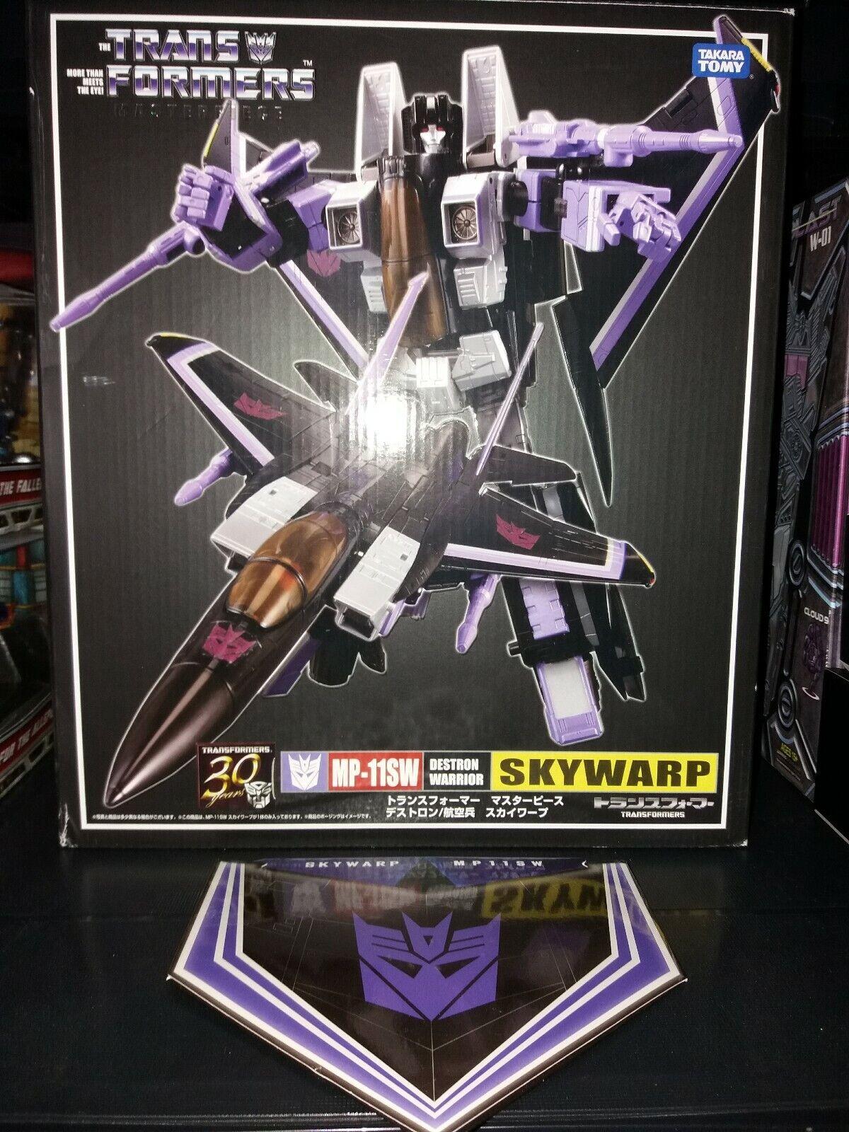 compra limitada Takara Takara Takara MP-11SW Transformers Masterpiece Skywarp con COIB (todos 100% Genuino)  ventas en línea de venta