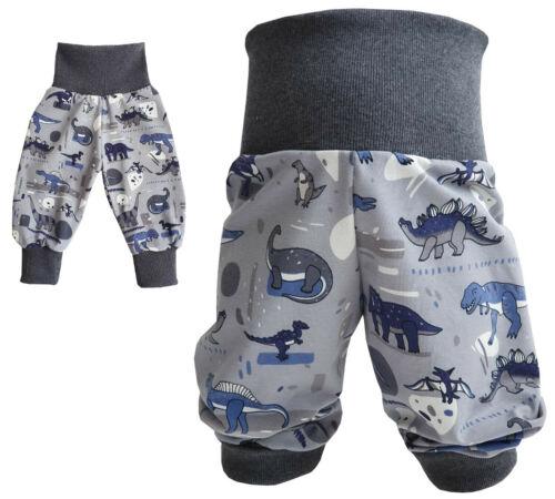 Pumphose Babyhose Mitwachshose Baby Kind Junge Dinosaurier 56-116 Handmade