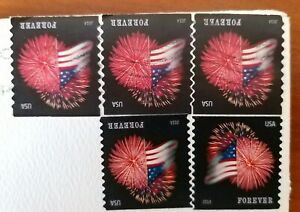 USA-Airmail-Postage-Stamp-Features-2014-Forever-An-USED-amp-MINT-Stamps