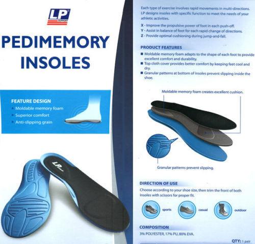 Lp306 Super Morbido Pedicure Memory Foam Solette Orthotic Piede Tacco Ammortizzatore Scarpa