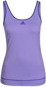 New-Adidas-Vest-Tank-Top-Sleevelss-T-Shirt-Purple-Ladies-Womens-Tennis-Gym
